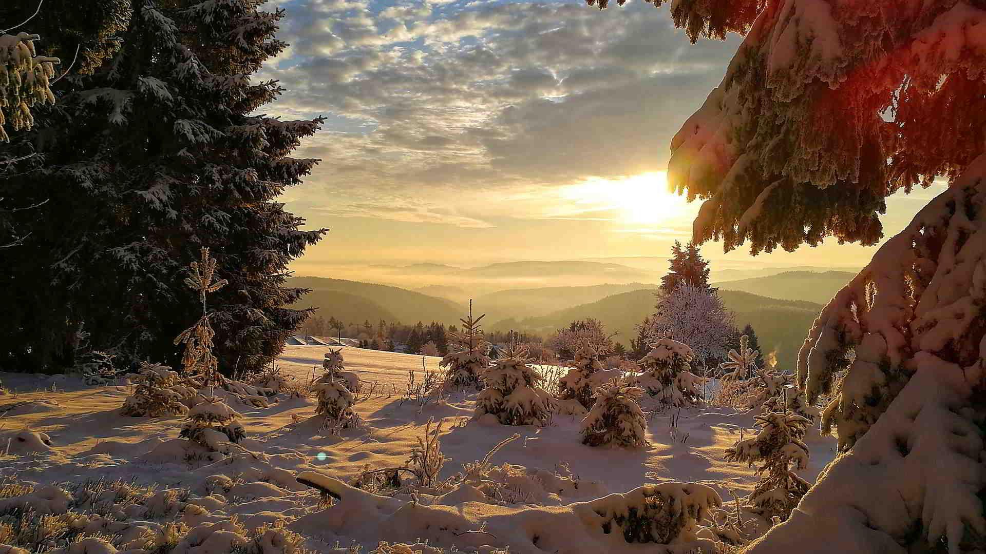 Urlaub Zwischen Rennsteig Und Schwarzatal Winterzauber Am